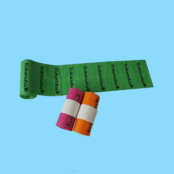 Customized OXO-biodegradable dog poop bag