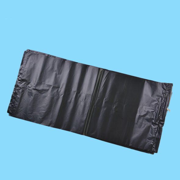 Compostable black PBAT drawstring bags