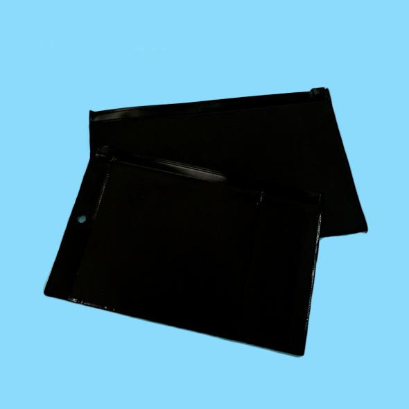 Black EVA Zipper Slider Smell Proof Bags