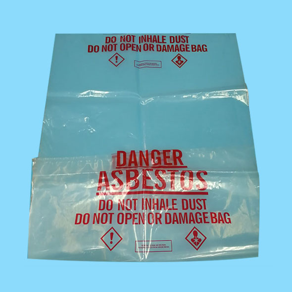 Clear Heavy Duty Asbestos Removal Bags