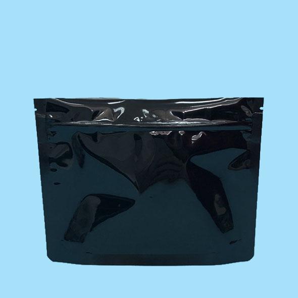 Black child resistant exist bags