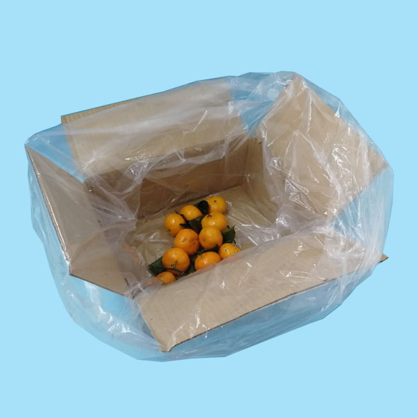 Poly clear MAP reusuable modified atmosphere inner liners bags for fresh products
