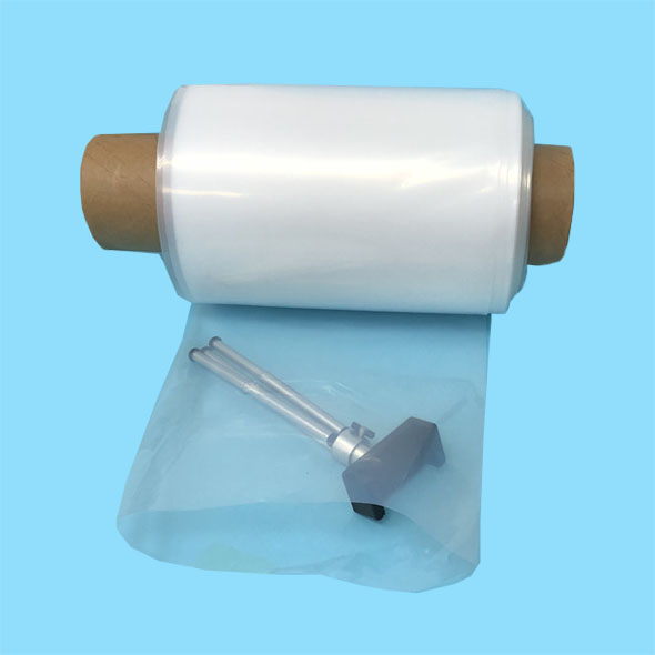 Clear customized width plastic poly tubing on roll