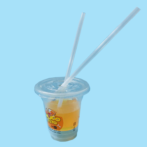 100% Compostable & Biodegradable PLA Straws For Drinking