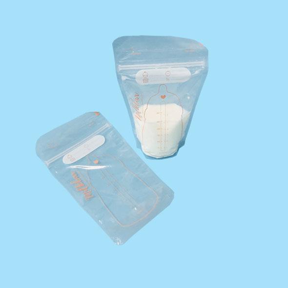BPA Free Clear Breastmilk Storage Bags For Breastfeeding