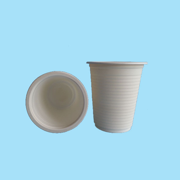 Biodegradable & Compostable Sugarcane PLA White Cups