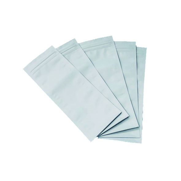 Smell Proof Opaque White Medical Pills Drugs Storage Bags For Dispensary