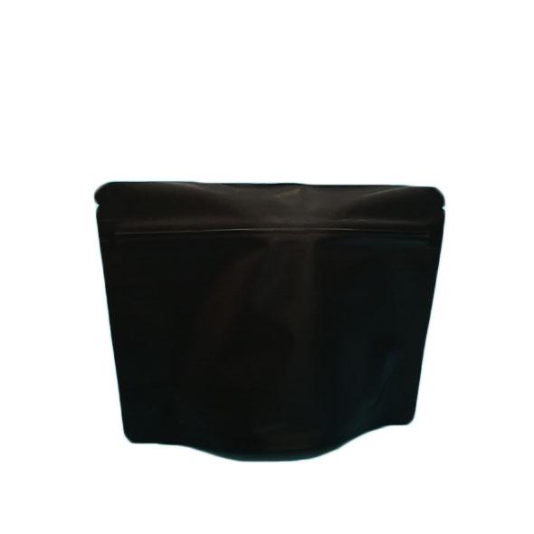 Opaque black mylar ziplock bags