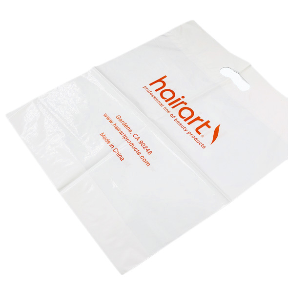 Plastic Merchandise Bags For Retail Clothes Shopping & Grocery Bag