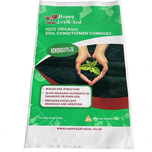Plastic Sand / Soil / Fertilizer Packaging Bags