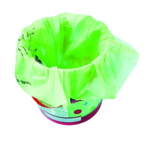 Customized Fully Compostable & Biodegradable Cornstrach Bin Liners For Garbage Collection