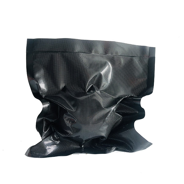 Black Embossed Shield Vacuum Sealer Bags